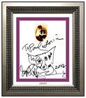 George Rodrigue Original Blue Dog Ink Drawing Signed Portrait Modern Pop Artwork