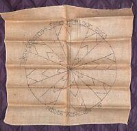 "Vintage Heirloom Rugs Primitive Hook Rug Pattern - Hidden Medallion - 15"""