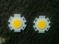 5 Watt | Warm-White | Round COB LED SMD Diode | 1 Set = 2 Pieces