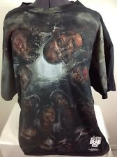 THE WALKING DEAD T-SHIRT AMC 2015 Zombies Cotton Size 3XL Great for Halloween