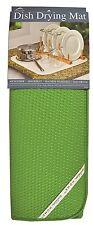 "Envision Home 464600 Microfiber Dish Drying Mat, 16"" x 18"" Peridot Green"