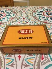 New ListingVintage Phillies Blunts Cigar Box - Tampa, Fl