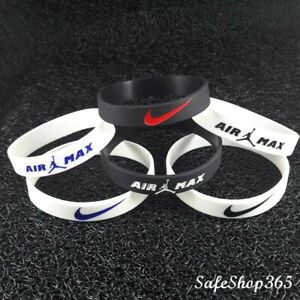 Silicone Nike bracelet Mens/boys wristband basketball Baller band Jordan air max