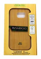 Evutec S Series Wood Bamboo Sleek impact Disbursement Case Samsung Galaxy S6