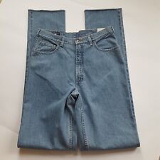 """New! Land's End Size 34 Relaxed Fit Jeans TALL LONG Unhemmed 42"""" inseam 34x42"""