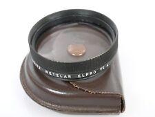 Leitz Leica elpro VIIa VII a con 54mm einschraubgewinde 54mm screw en + lederet.