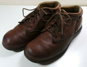 Men's Red Wing Brown Leather Ankle Height Boots Shoes Size 8.5EE Oxfords