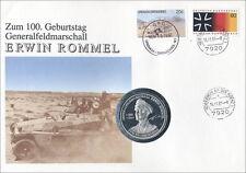 B-0456.a Erwin Rommel - 100. Geburtstag