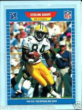 Sterling Sharpe 1989 89 Pro Set Rookie Card RC #550 Green Bay Packers NRMT-MINT