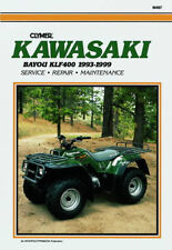 Clymer Atv Workshop Service Repair Manual Kawasaki Bayou Klf 400 1993-1999