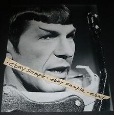 Photo LEONARD NIMOY Mr.Spock TV Star Trek 1966 Sci Fi  RARE