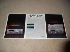 Pioneer SA-9800, TX-9800 Amp, Tuner Ad, 3 pg, 1978, Article, Info on Tuner