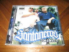 Chicano Rap CD Los Santaneros 2 Live & Die in S.A. - Lyrical Casual Primo Joker