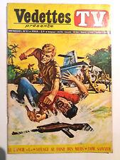 vedettes TV N° 11 Sagedition tom sawyer voyages au fond des mers le ranch L 1970