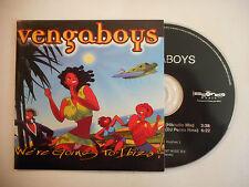 VENGABOYS : WE'RE GOING TO IBIZA ♦ CD SINGLE PORT GRATUIT ♦