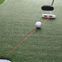 Golf Putter Laser Pointer Training Putting Aim Line Practice Aid Corrector Tool
