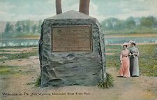 WILKES-BARRE PA – River Front Park Fort Wyoming Monument