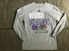 Adidas Women's Small 2016 WNBA Finals Champs Los Angeles Sparks Tee T Shirt
