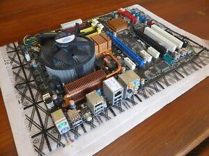 Asus P5Q Pro Motherboard, Xeon E5450 cpu, Win10 Pro