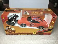 NEW RARE Dukes of Hazzard General Lee 1969 Charger 1:18 RC Radio Control Car