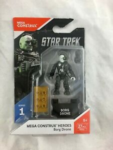 Mega Construx - Heroes - series 1 - Star Trek - Borg Drone - FND66 - New