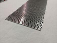 .125 1//8 x 12 wide x 72 long 5052 Aluminum Perforated Sheet folkart artwork