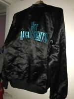 VTG 1990s Hot August Nights Reno Neveda Satin Jacket SZL Double Sided Car Club