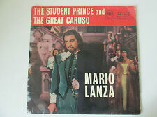 """The Student Prince & The Great Caruso 1958 12""""LP Vinyl Mario Lanza   /REC4SS"""