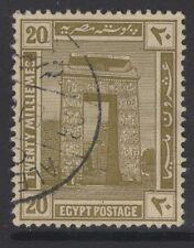 EGYPT SG79 1914 20m OLIVE USED