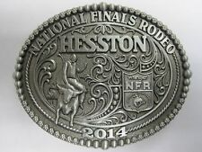 National Finals Rodeo Hesston 2014 NFR Youth (Small) Cowboy Buckle New Wrangler