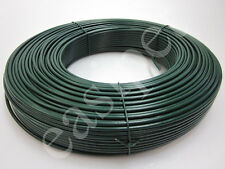 More details for pvc coated tension straining line wire galvanised steel 100m x 3.1mm fencing