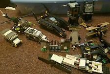 LEGO BATMAN 7787 BAT TANK, Joker Helicopter, Scarecrow  Almost complete plus mor