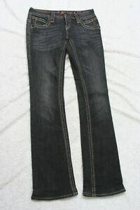 Rock Revival Blue Womans Denim Jeans Pants 25 Cotton Elastane Gwen Easy Boot J60