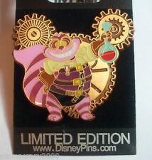 CHESHIRE CAT Mickey Mouse Gears Series Steampunk - LE 250 VHTF Disney Store Pin