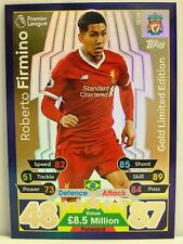 Match Attax 2017/18 Premier League - #LE3G Roberto Firmino - Gold Limited Editio