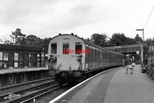PHOTO  1979 VIRGINIA WATER RAILWAY STATION SURREY WITH A 2-SAP ELECTRIC UNIT.
