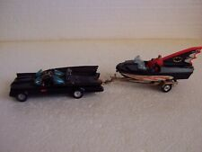 CORGI #GS-3 BATMAN'S BATMOBILE & BATBOAT SET-VINTAGE -RARE-NM