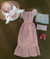 Vintage BARBIE SWEET 16 PINK POLKA DOT DRESS  NEAR MINT FREE EXTRAS  XMAS SALE!