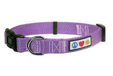 Purple Dog Collar Nylon Collars for Large Dog Breeds Size Large New