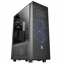 Thermaltake Core X71 Tempered Glass Edition, Big-Tower-Gehäuse, schwarz