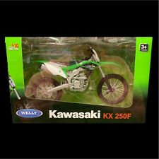 Welly 1:10 Scale Kawasaki Kx 250F Diecast Motorcycle Replica Gift