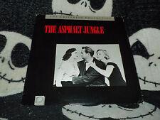The Asphalt Jungle Criterion Laserdisc LD Free Ship $30 Orders