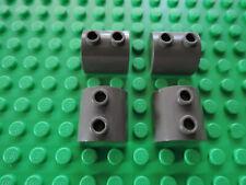 Lego 4 x Stein gewölbt Bogenstein 30165 2x2 alt dunkelgrau 5987 7166 7414 5988