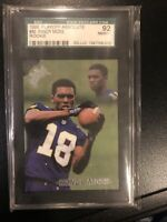 1998 Playoff Absolute #40 Randy Moss (RC) SGC 92