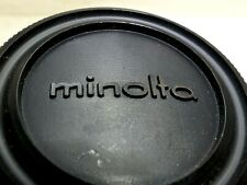 Minolta Camera SRT SR-7  Body Cap Cover Genuine  Original X-700 X-370 X-570