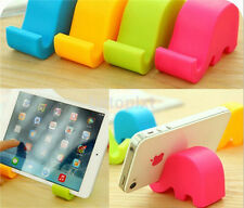 Portable Small Mini Elephant Mobile Cell Phone Tablet Fix Holder Mount Stand FR