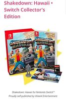 Shakedown Hawaii Collector's Edition Nintendo Switch Brand New Free Shipping!