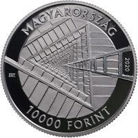 2020, Ungarn, 10000 Forint János Harsányi Nobelpreis PP, 1 oz Silber