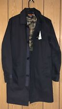 Jack Spade New York Mens Black Camo Liner Trench Coat Rain Jacket Size: XS  $398