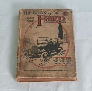 The Book of the Ford (Sixth Edition) R.T.Nicholson 1921